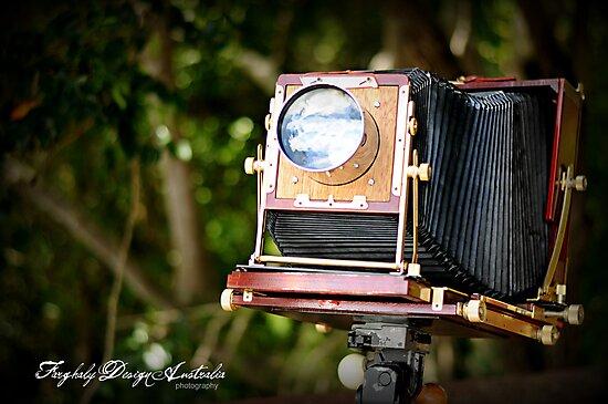 Vintage Camera by Nadja L.L. Farghaly