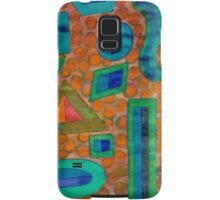 Collection of different Shapes with Double Filling  Samsung Galaxy Case/Skin