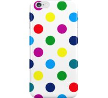 Multi Coloured Spots iPhone Case iPhone Case/Skin