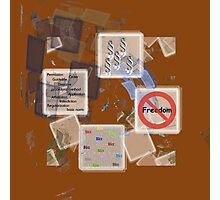 BureauCrazy Photographic Print