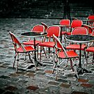 Chairs in Montmartre by Laurent Hunziker