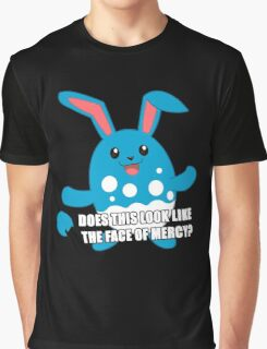 Twitch Plays Pokemon - Pokemon Emerald - Does This Look Like the Face of Mercy? Graphic T-Shirt