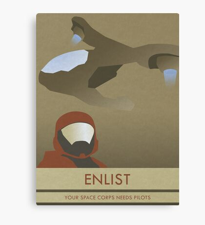 Enlist Canvas Print
