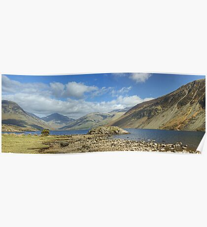 Wastwater...Screes and Fells Poster