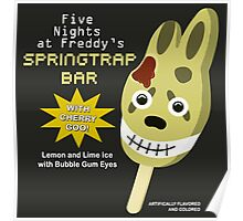 Five Nights at Freddy's 3 - Springtrap Ice Cream Bar Poster