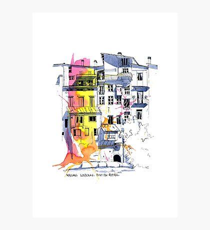 Maisons Suspendu, Pont-en-Royans, France Photographic Print