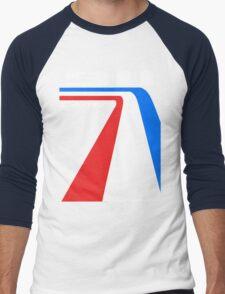 racing stripes Men's Baseball ¾ T-Shirt