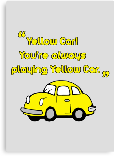 Yellow Car by saniday