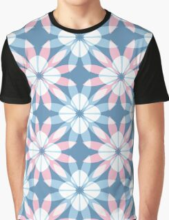 The pattern of flowers Graphic T-Shirt