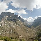 View of Vikos Canyon by Nikolas Mavrikakis