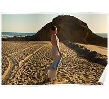 Beach bride Poster