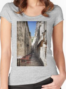 Dubrovnik Café Women's Fitted Scoop T-Shirt