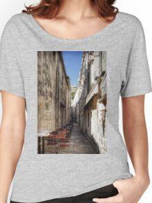 Dubrovnik Café Women's Relaxed Fit T-Shirt