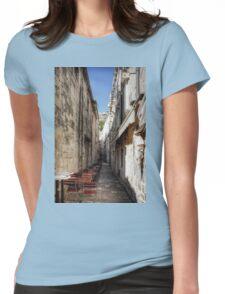 Dubrovnik Café Womens Fitted T-Shirt