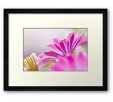 les caresses du vent Framed Print