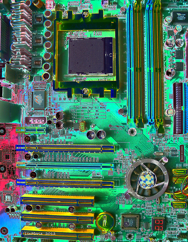 Death of a Mother Board... by linmarie