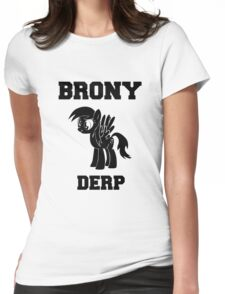BRONY Derpy Hooves Womens Fitted T-Shirt