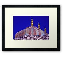 City Palace Crown Framed Print