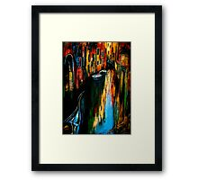 City Of The Shadow.. Framed Print
