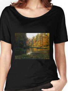 Moores Bayou, Arkansas Post National Park and Memorial Women's Relaxed Fit T-Shirt