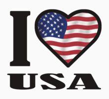 I LOVE USA by mcdba