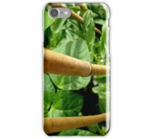 GROW - THIS IS OUR BEAN PLANT 'GROWN ON CONCRETE' iPhone Case/Skin