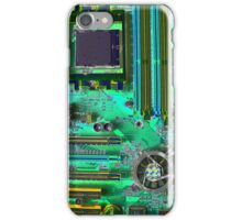 iPhone Case of painting...Death of a Mother Board... iPhone Case/Skin