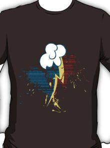 Rainbow Dash Cutie Mark Grain&Splatter T-Shirt