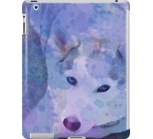 Water Color Husky iPad Case/Skin