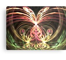 Pink Monarch Metal Print