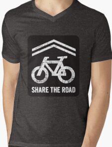 Sharrow the Road - Block Mens V-Neck T-Shirt