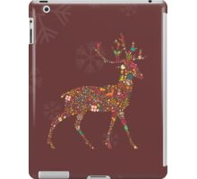 Christmas Reindeer 4 iPad Case/Skin