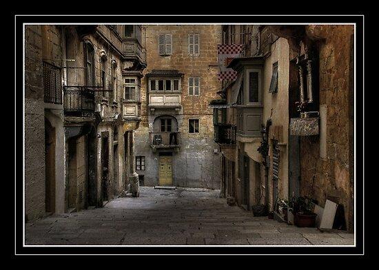 """ST< CHRISTOPHER'S STREET VALLETTA MALTA"" by RayFarrugia"