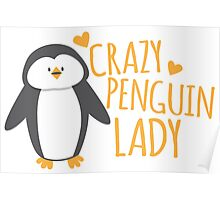 Crazy Penguin Lady  Poster