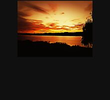 Sunset Delia Lake 2015 Unisex T-Shirt
