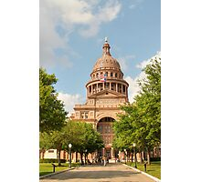 Texas State Capitol Building in Austin Photographic Print
