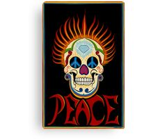 Zach's Sugar Skull Canvas Print
