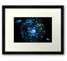 The Big Bang Theory the mother of Time  Framed Print