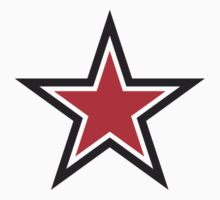RED STAR with outline Command by jazzydevil