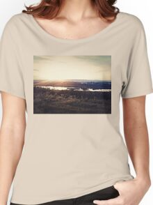 autumn landscape Women's Relaxed Fit T-Shirt