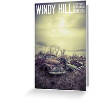 Windy Hill Auto Parts Greeting Card