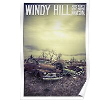 Windy Hill Auto Parts Poster