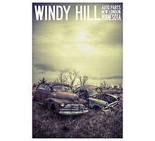 Windy Hill Auto Parts Photographic Print