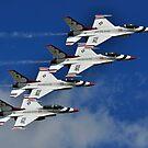 U.S.A.F Thunderbirds by Chris Ferrell