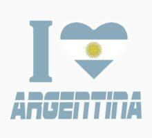 I LOVE ARGENTINA by mcdba