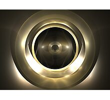 Gold Sphere Photographic Print