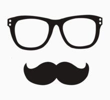 Nerd Mustache by MonsieurM