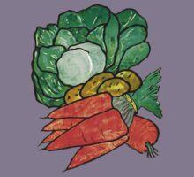 Lettuce, Carrots & Potatoes Kids Tee