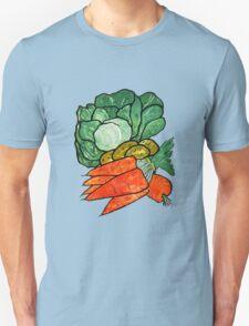 Lettuce, Carrots & Potatoes Unisex T-Shirt