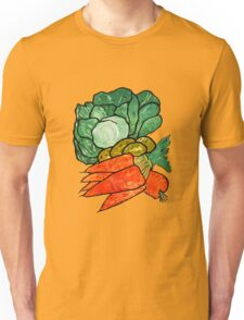 Lettuce, Carrots & Potatoes Unisex T-Shirt